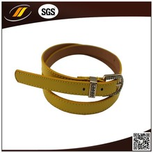 Custom Design PU Belts Woman Fashion And High Quality Thin Belts