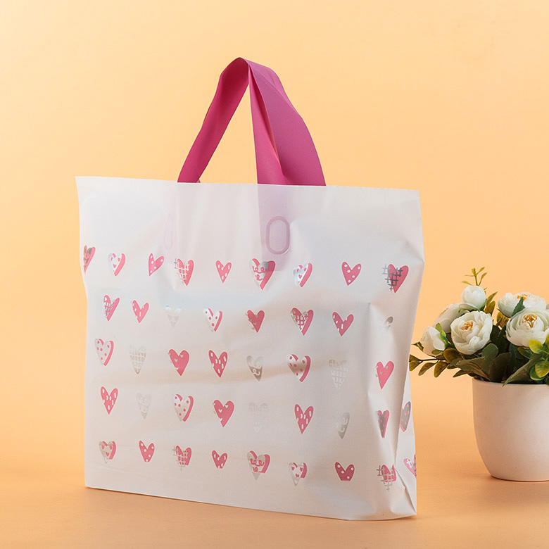 China suppliers factory Wholesale print gift custom logo shopping plastic bag