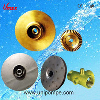OEM forged brass /stainless steel water pump impeller