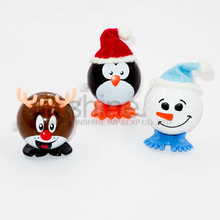 Christmas santa claus wind up toys , Promotion christmas wind up toys , Plastic wind up walking christmas toys