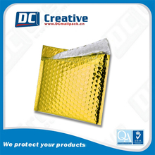 Jiffy envelopes custom gold bubble mailers gold metallic bubble packing envelopes whosales foil Bubble mailing bags