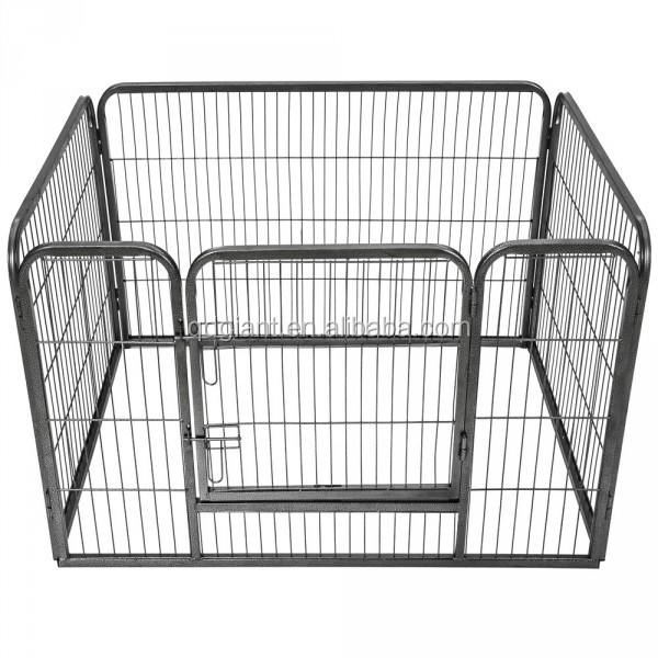 Pet Play Pen Exercise Cage Kennel Rabbit Fence 8 Panel Dog Playpen Crate Fence