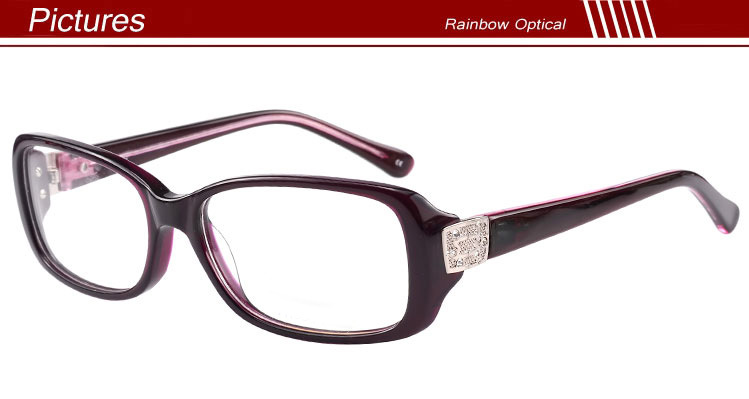 Glasses Frames New Trends : 2016 New Trend Acetate Glasses Frames For Women With Big ...
