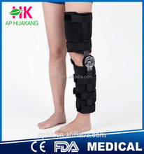 Medical leg brace ,hinged knee support,orthopedic leg brace with top quality