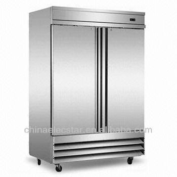 double door Reach-in kitchen Refrigerator, Conforms to UL/NSF and Energy Star .Stainless Steel,restaurant catering equipment