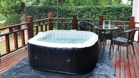New desigh rectangular hot spa tub with CE made by the manufacturer in china.