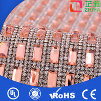 2014 wholesale fashion crystal rhinestone mesh