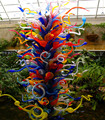 Modern wholesale handblown murano art colorful garden sculpture glass
