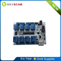 new arrival 8-way network relay module alibaba china