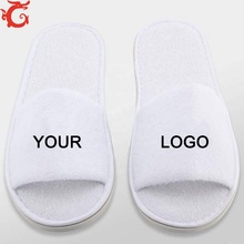 hotel <strong>slipper</strong> with custom logo for festival event