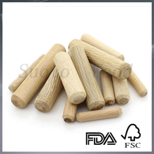 wholesale natural cheap wood dowel custom wood tenon stick different size wood dowel