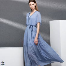 T-D040 Latest Fashion New Collection Maxi Long Dress Woman