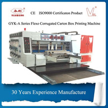 China manufacture automatic lead edge feeder carton box printing slotting die cutting machine