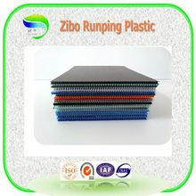 Runping China factory producing lightweight anti-static packing material PP plastic hollow sheet