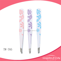 Sell well new type custom slant tweezers