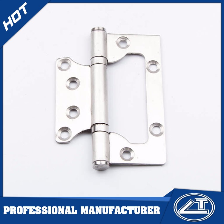 Stainless Steel Ball Bearing Acrylic Door Flush Hinge single hinge