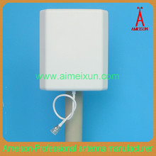 Indoor cordless phone antenna 806 - 960 MHz Directional Wall Mount Flat Patch Panel Antenna cdma gsm phone with external antenna