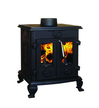Solid fuel wood burning stove/ cast iron stove