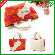 Thick durable 16OZ cotton carry bag, large size cotton cloth bag for shopping
