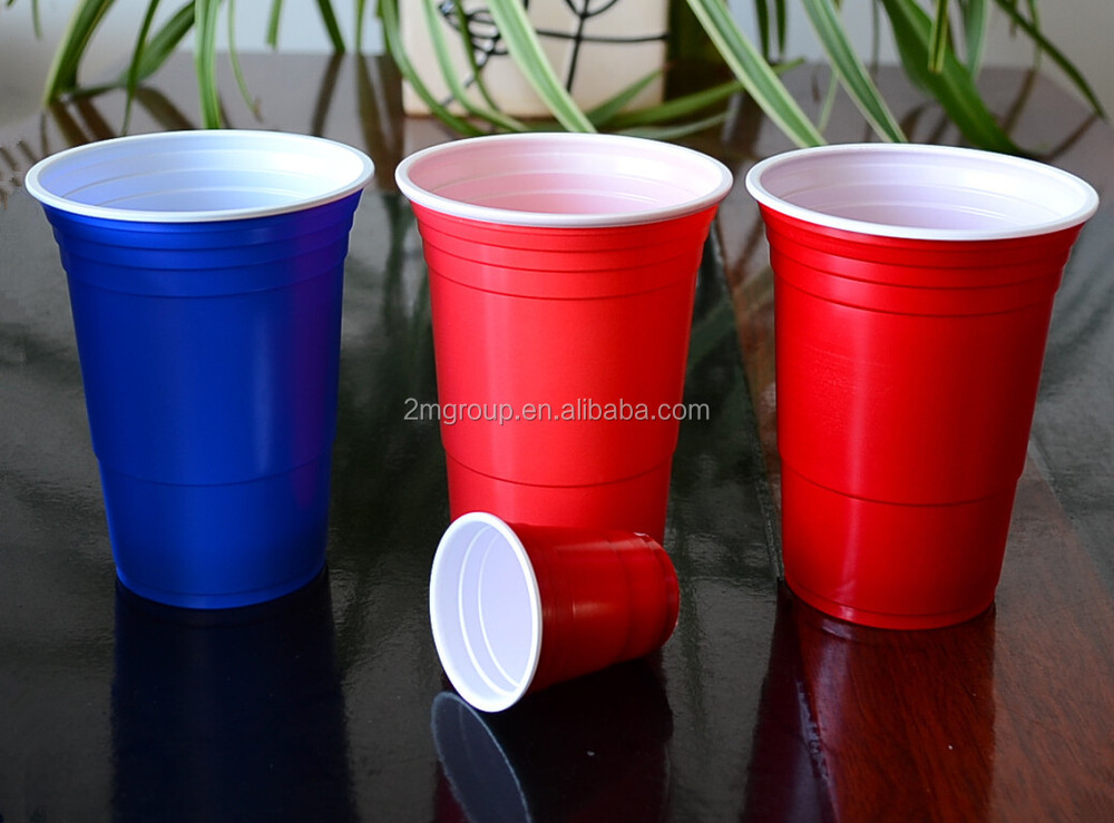 16oz High quality red party cup wholesale /cup song / beer pong plastic cups(1000pcs/carton)