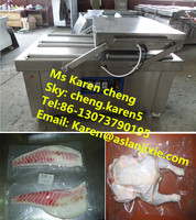 mini vacuum chicken packing machine/commercial food vacuum packing machine