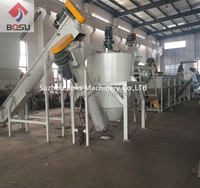 Plastic PP PE film bottle material washing recycling machine