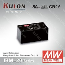 MEAN WELL 20w 5v miniature Power Supply IRM-20-5 smps circuit manufacturer