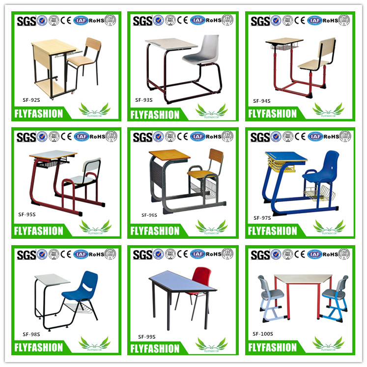 SF-81S Primary School Student Furniture Desk and Chair Set For Sale