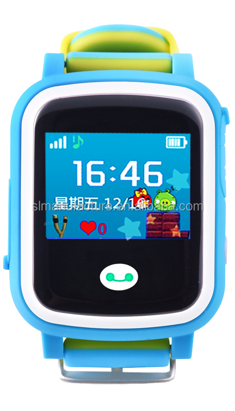 hot sale best gift 1.0 touch color screen MTK6261 health pedometer kids gps smart watch with sim card