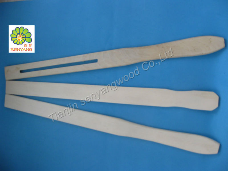 mixing hand paint paddle wood paint stirrer