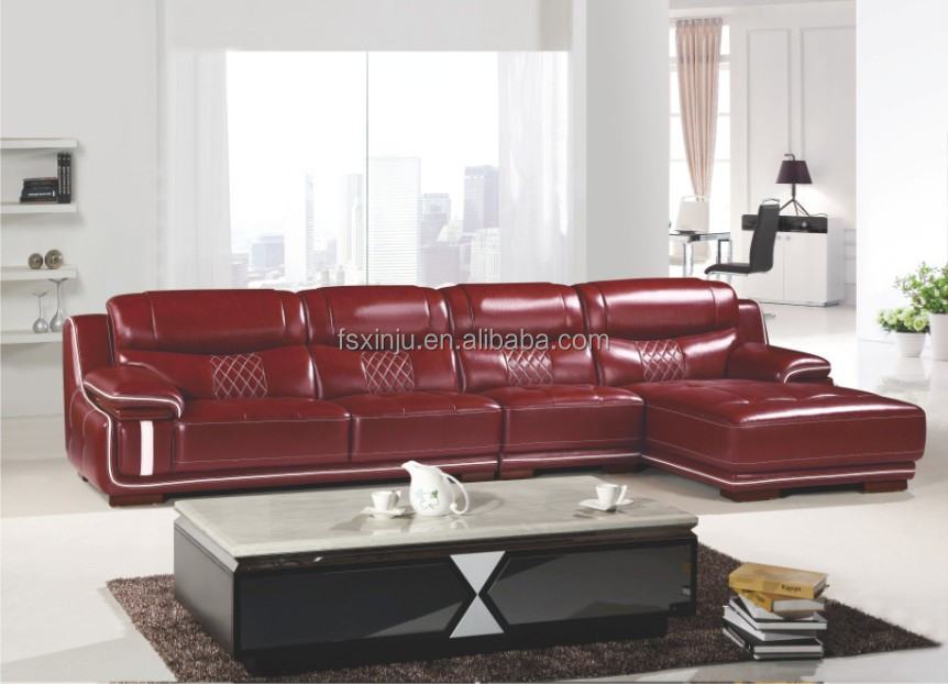 italian leather sofa manufacturers / corner sofa furniture 2138#