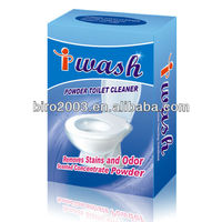 On Promotion Hygiene Product Effective Powder Bathroom Cleaner 12pcs*10g without Any Causticity or Toxicity