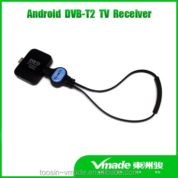 The dvb t2 usb pad tv tuner for Android pad or phone tv mobile pad tv