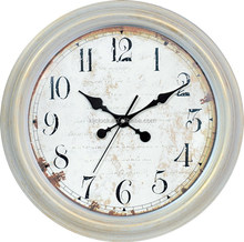 Round shape retro promotional antique wall clock