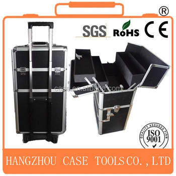 professional cosmetic trolley cases,aluminum barber tool case,aluminum hairdressing tool case