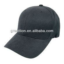 Cool plain black baseball hat