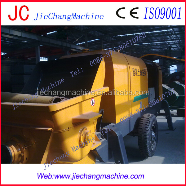 JC mini/small used mobile putzmeister concrete pump