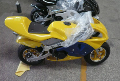 China wholesale pocket bike super moto bike 49cc vespa car for sale