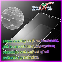 0.3mm 2.5D 9H anti-shock temepered glass screen guard manufacturer for mobile phone