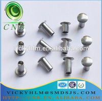 free sample 304 stainless steel female and male rivet