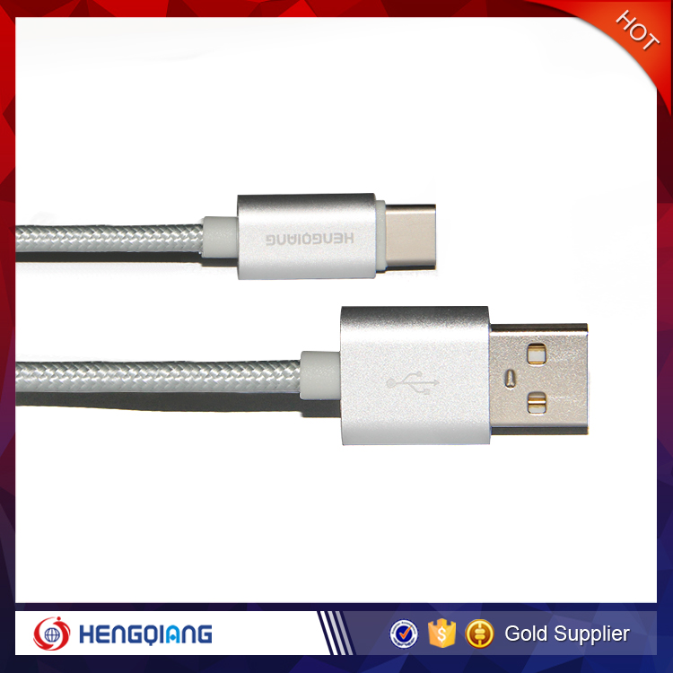Hot selling Samrtphone Micro USB Cable, High Speed Nylon Braided Micro USB Cable