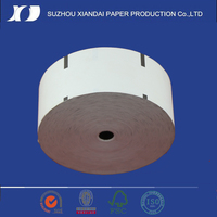 thermal paper rolls with sensor mark used in ATM machine