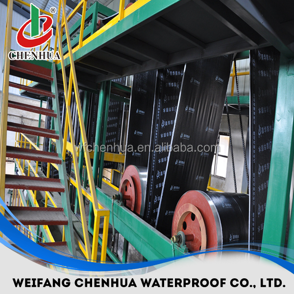 China small automatic waterproof bitumen sheet production line