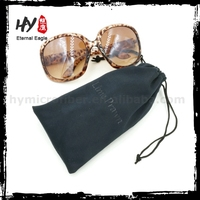 logo print microfiber pouch, cheap soft pouch sunglasses case, fabric microfiber sunglasses pouches