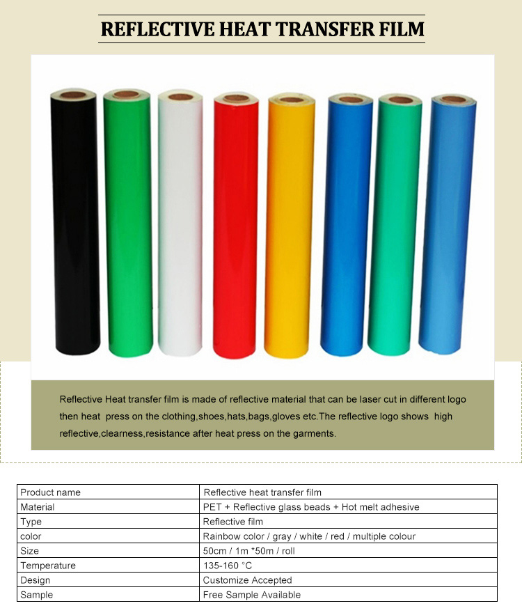 6389586d0 Wholesale Rainbow / Iridescent Reflective Heat Transfer Vinyl Film ...