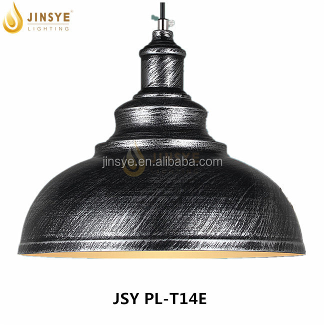 industrial pendant light pendant lamp /custom metal dome pendant lamp