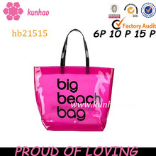 big fashion pvc beach bag