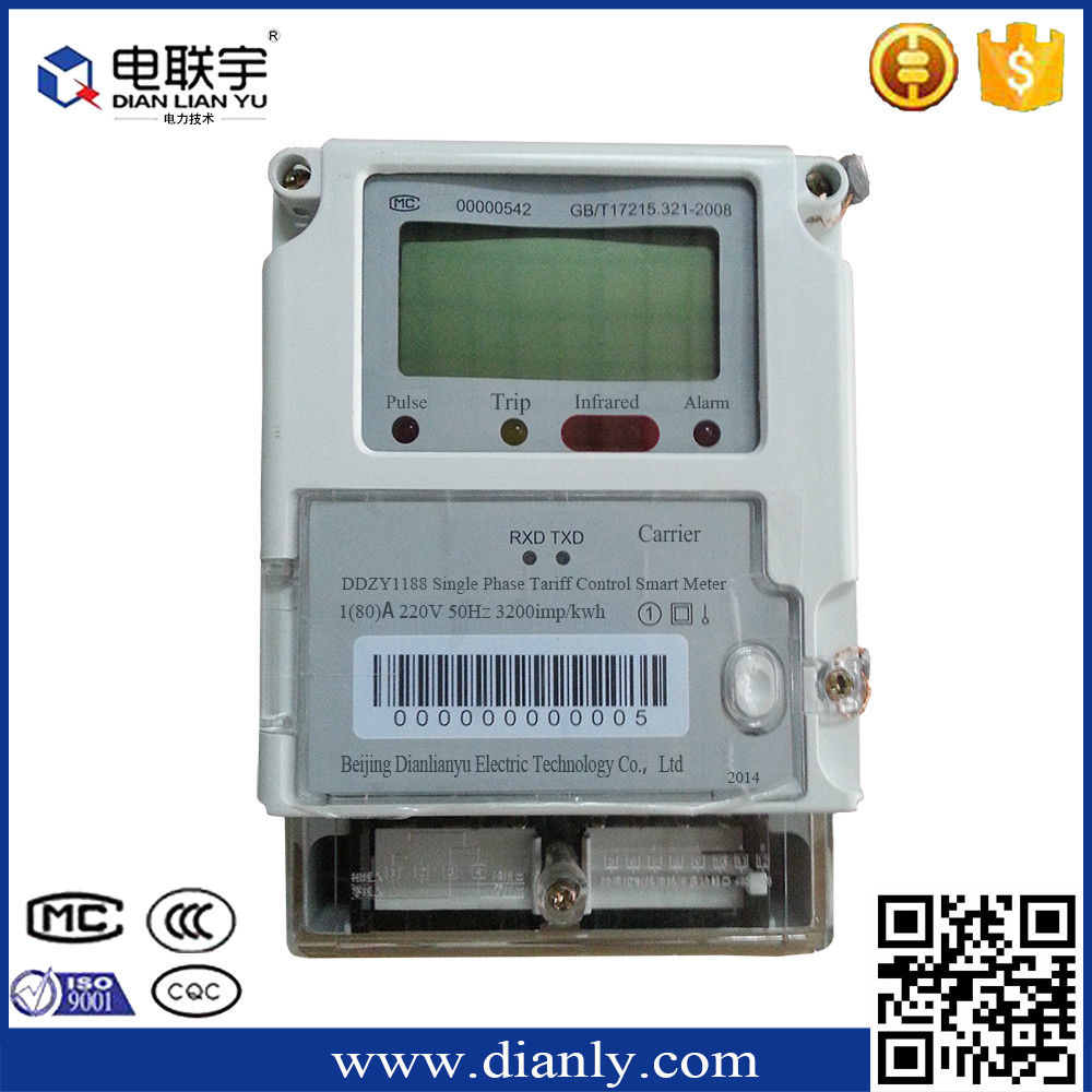 DTSD1188 modbus kwh meter stop digital power meter