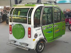 hot sale 48V/800W closed type motorcycle tricycle tuk tuk taxi