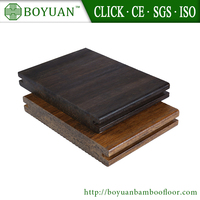 Bamboo made deck flooring machine manufacturing type outdoor
